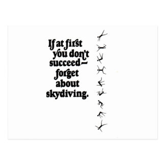 Carte Postale Échouer de Skydive
