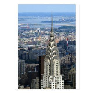Carte Postale Éclat comme la construction de Chrysler