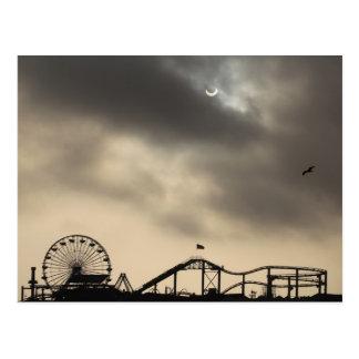 Carte Postale Éclipse solaire de Santa Monica