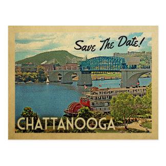 Carte Postale Économies de Chattanooga la date Tennessee