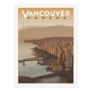 Carte Postale Économies de Vancouver Canada | la date