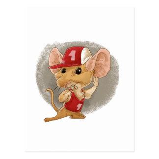 Carte Postale écoute de souris d'enfant