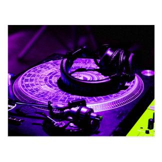 Carte Postale Écouteurs 3 du DJ