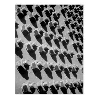 Carte Postale Écrous de pont - et - boulons