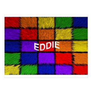 CARTE POSTALE EDDIE