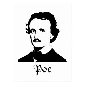 Carte Postale Edgar Allen Poe