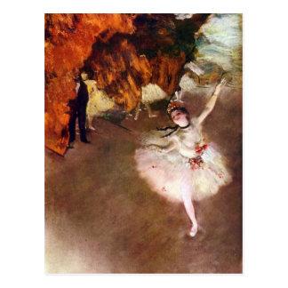 Carte Postale Edgar Degas - ballerine de Prima