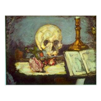 Carte Postale Edgar Degas - crâne