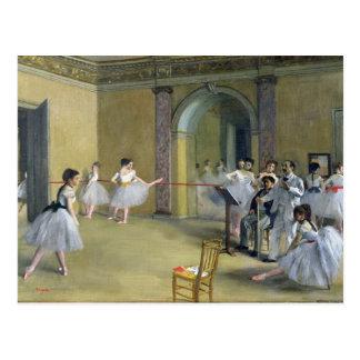 Carte Postale Edgar Degas | le foyer de danse