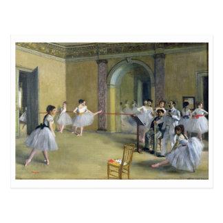Carte Postale Edgar Degas | le foyer de danse à l'opéra