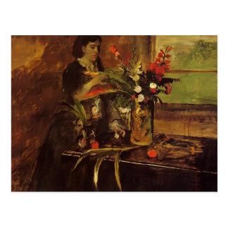 Carte Postale Edgar dégazent le portrait de Mme. Rene De Gas