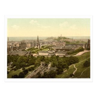 Carte Postale Edimbourg du château, Ecosse