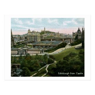 Carte Postale Edimbourg, Ecosse de cru de château
