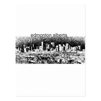 Carte Postale Edmonton Alberta