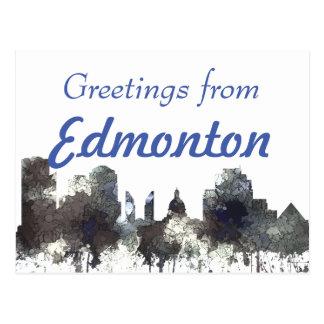 Carte Postale Edmonton Alta. Horizon-CROQUANT