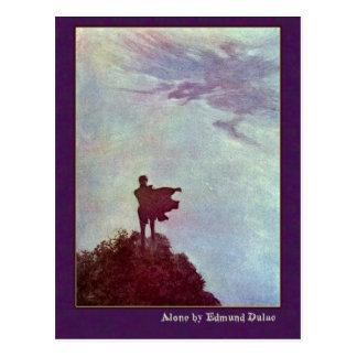 Carte Postale Edmund Dulac illustre Edgar Allan Poe