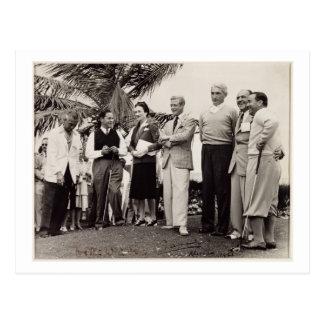 Carte Postale Edouard, duc de Windsor (1894-1972) et de Wallis,