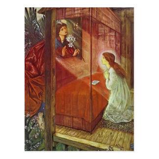 Carte Postale Edouard Jones : L'annonce. La fleur de Dieu