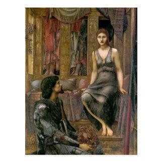 Carte Postale Edouard - le Roi Cophetua et la domestique de