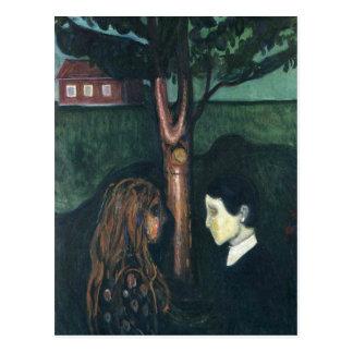 Carte Postale Edouard mâchent la peinture d'art