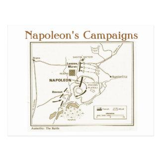 Carte Postale Éducation, histoire, napoléon, bataille