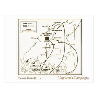 Carte Postale Éducation, histoire, napoléon, campagne d'Iéna