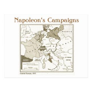 Carte Postale Éducation, histoire, napoléon, Europe centrale