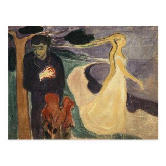 Carte Postale Edvard Munch - séparation