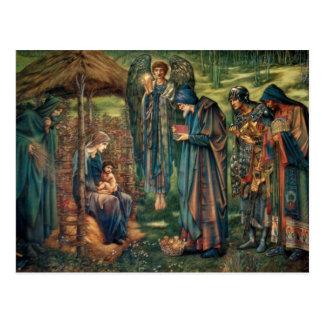Carte Postale Edward Burne-Jones : Étoile de Bethlehem