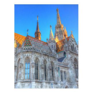 Carte Postale Église Budapest de Mathias