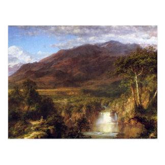 Carte Postale Église de Frederic Edwin - coeur des Andes