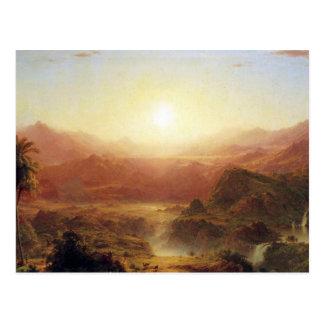 Carte Postale Église de Frederic Edwin - les Andes de l'Equateur