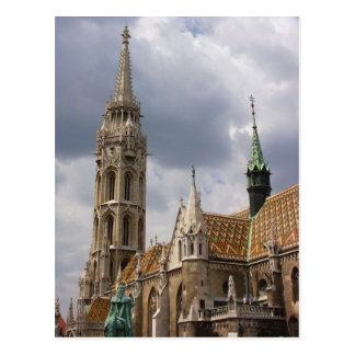 Carte Postale Église de Matthias, Budapest