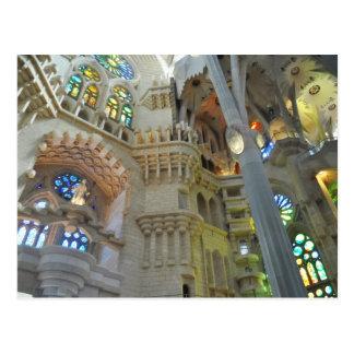 Carte Postale Église de Sagrada Familia de La