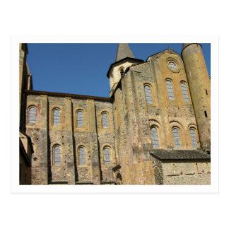 Carte Postale Église de St Foy, c.1050 commencé par l'abbé