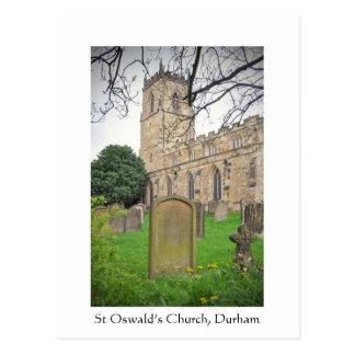 Carte Postale Église de St Oswald, Durham