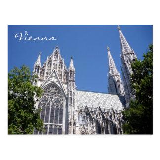 Carte Postale église de Vienne de votiv