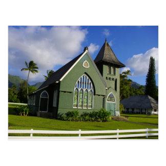 Carte Postale Église de Waioli Huiia - Kauai