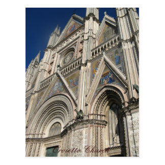 Carte Postale Église d'Orvietto, Sicile, Italie