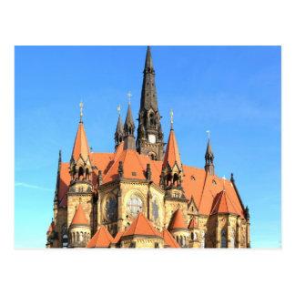 Carte Postale Église Dresde Allemagne de garnison de paix et de