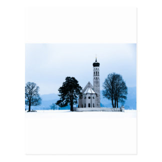 Carte Postale Église isolée