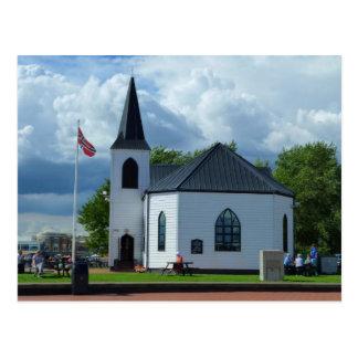 Carte Postale Église norvégienne, Cardiff, Pays de Galles