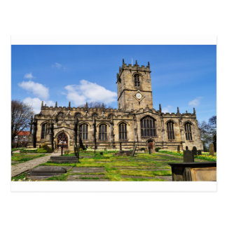 Carte Postale Église Sheffield de champ d'Eccles
