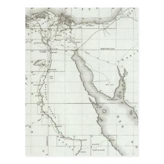 Carte Postale Egyopt et la Palestine