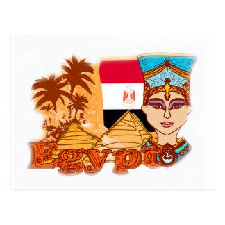 Carte postale égyptienne de reine Cléopâtre