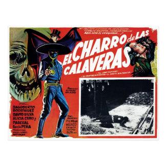 Carte Postale El Charro De Las Calaveras