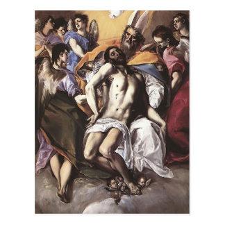 Carte Postale EL Greco- la trinité sainte