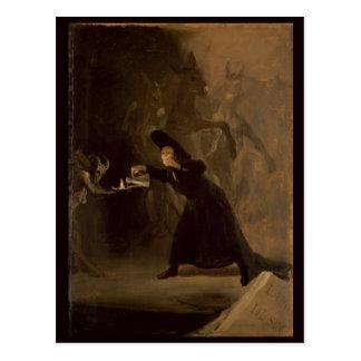 Carte Postale EL Hechizado de Francisco Jose de Goya y Lucientes