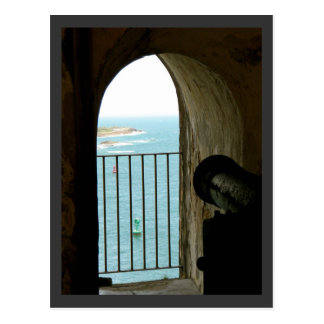 Carte Postale EL historique Morro, Porto Rico de château