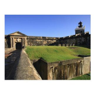 Carte Postale EL Morro, château de San Felipe, pont-levis, avant